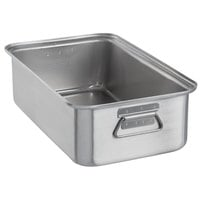 Vollrath 68367 Wear-Ever 17.25 Qt. Aluminum Roasting Pan with Handles - 20 inch x 11 1/8 inch x 5 1/2 inch