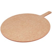 American Metalcraft MP914 9 inch Round Pressed Natural Pizza Peel with 5 inch Handle