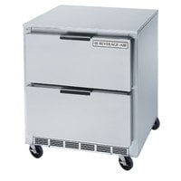 Beverage-Air UCFD27AHC-2 27 inch Undercounter Freezer with 2 Drawers