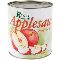 Regal #10 Can Sweetened Applesauce - 6/Case
