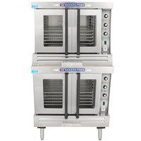 Bakers Pride BCO-E2 Cyclone Series Double Deck Full Size Electric Convection Oven - 208V, 3 Phase, 21 kW