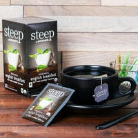 Steep By Bigelow Organic English Breakfast Tea Bags - 20/Box