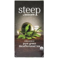 Steep By Bigelow Organic Pure Green Decaffeinated Tea Bags - 20/Box