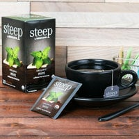 Steep By Bigelow Organic Mint Herbal Tea Bags - 20/Box