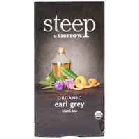 Steep By Bigelow Organic Earl Grey Tea Bags - 20/Box
