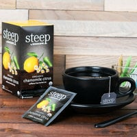 Steep By Bigelow Organic Chamomile Citrus Herbal Tea Bags - 20/Box