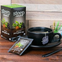 Steep By Bigelow Organic Pure Green Tea Bags - 20/Box