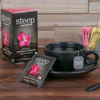 Steep By Bigelow Organic Rooibos Hibiscus Tea Bags - 20/Box