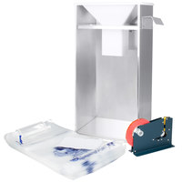 B-28 Kit #2 EZ Bagger Ice Bagger Kit for 8 lb. and 10 lb. Ice Bags