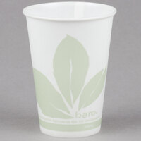 Bare by Solo R10NBB-JD110 Eco-Forward 10 oz. Wax Treated Printed Paper Cold Cup - 2000/Case
