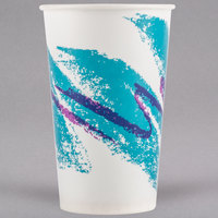 Solo RW16-00055 Jazz 16-18 oz. Wax Treated Paper Cold Cup - 1000/Case
