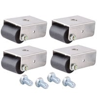 Beverage-Air 00C31S045A 1 1/2 inch Roller Casters for SPE, UC, and WT Units - 4/Set