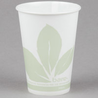Bare by Solo R10NBB-JD110 Eco-Forward 10 oz. Wax Treated Printed Paper Cold Cup - 100/Pack