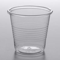 Choice 3.5 oz. Translucent Thin Wall Plastic Cold Cup - 2500/Case