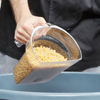 Rubbermaid FG9G5400CLR Bouncer® Safety Portioning Scoop - 8 Cup / 64 Oz.