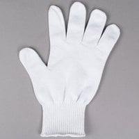 San Jamar SG10-S White A7 Level Cut Resistant Glove with Dyneema - Small