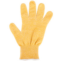 San Jamar SG10-Y-S Yellow A7 Level Cut Resistant Glove with Dyneema - Small