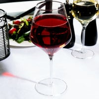 Master's Reserve 9326 Prism 24 oz. Customizable Red Wine Glass - 12/Case