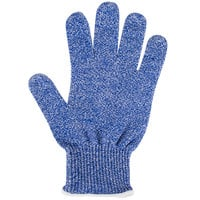 San Jamar SG10-BL-S Blue A7 Level Cut Resistant Glove with Dyneema - Small