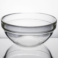 Arcoroc 10027 39 oz. Stackable Glass Ingredient Bowl by Arc Cardinal - 24/Case