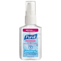 Purell® 9606-24 Advanced 2 oz. Gel Instant Hand Sanitizer - 24/Case