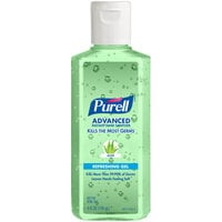 Purell® 9631-24 Advanced with Aloe 4 oz. Gel Instant Hand Sanitizer - 24/Case