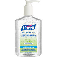 Purell® 9691-12 Advanced Green Certified 8 oz. Gel Instant Hand Sanitizer - 12/Case