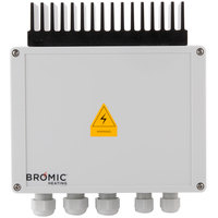 Bromic Heating BH3130011 Tungsten Smart Heat Wireless Dimmer Controller with Remote - 110/230V