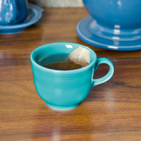 Fiesta Tableware from Steelite International HL452107 Turquoise 7.75 oz. China Cup - 12/Case