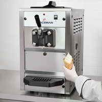 Spaceman 6210 Soft Serve Ice Cream Machine with 1 Hopper - 110V