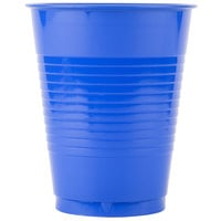 Creative Converting 28314781 16 oz. Cobalt Blue Plastic Cup - 20/Pack
