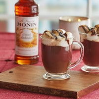 Monin 750 mL Premium Toasted Marshmallow Flavoring Syrup