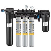Everpure EV9329-73 High Flow CSR Triple-7FC Water Filtration System with Pre-Filter - .5 Micron and 7.5 GPM