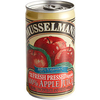 Musselman's 5.5 fl. oz. Apple Juice - 48/Case