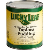Lucky Leaf #10 Can Premium Tapioca Pudding - 6/Case