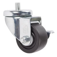 Beverage-Air 00C31-041A Equivalent 3 inch Replacement Caster with Brake