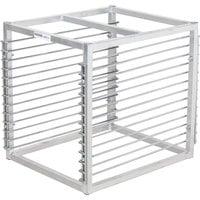 Channel RIW-13 13 Pan Aluminum End Load 25 inch x 20 1/2 inch x 23 inch Sheet / Bun Pan Rack for Reach-Ins - Assembled