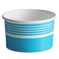 Choice 6 oz. Blue Paper Frozen Yogurt / Food Cup - 1000/Case