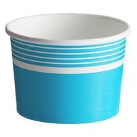Choice 12 oz. Blue Paper Frozen Yogurt / Food Cup - 1000/Case