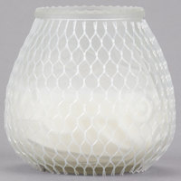 Sterno 40134 Euro-Lowboy 45 Hour Frost Wax Filled Glass Candle - 12/Case