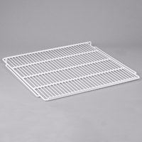 Avantco 178SHELFGDS White Coated Wire Shelf - 24 3/8 inch x 23 5/8 inch