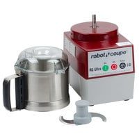 Robot Coupe R2N Ultra B Food Processor with 3 Qt. Stainless Steel Bowl - 1 hp