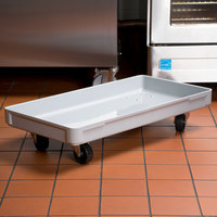 MFG Tray 805148-5136 16 inch x 30 inch Gray Fiberglass Dough Proofing Box Dolly