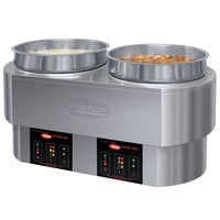 Hatco RHW-2 11 Qt. Dual Round Heated Food Well