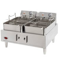 Wells 5E-F30 30 lb. Electric Countertop Fryer - 208/240V, 8638/11,500W
