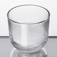 Sterno 40114 PetiteLites 8 Hour Clear Wax Filled Glass Candle - 48/Case