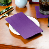 Amethyst Paper Dinner Napkin, 2-Ply - Creative Converting 318938 - 50/Pack
