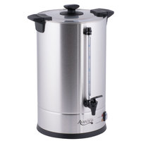 Avantco CU110ETL 100 Cup (500oz) Double Wall Stainless Steel Coffee Urn/Coffee Percolator- 1500W