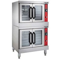 Vulcan VC44ED-208/1 Double Deck Full Size Electric Convection Oven - 208V, 1 Phase, 25 kW