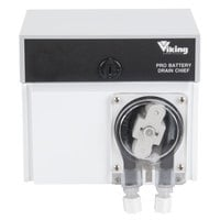 Viking Pro Battery Drain Chief Chemical Pump with Viton Tube for Solvent & D-Limonene Dosing